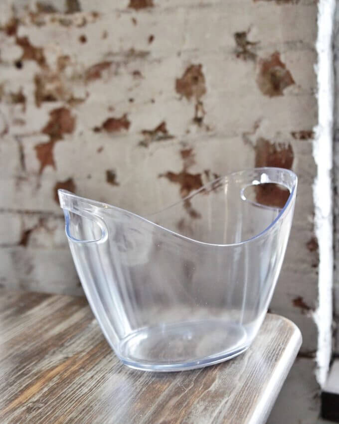 Фото 2 - Прозрачное ведерко для льда.