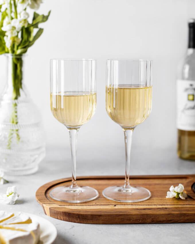 Фото 1 - Бокалы для вина из хрустального стекла (2шт).