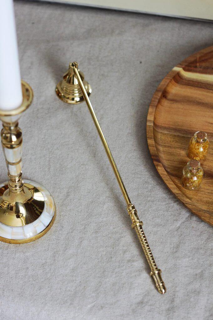 Фото 1 - Пламегаситель для свечи.