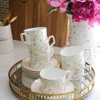 Фото 4 - Чайный набор Flora (12пр.).