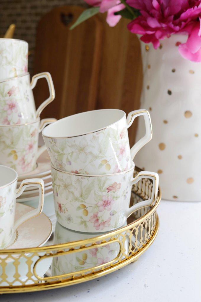 Фото 2 - Чайный набор Flora (12пр.).