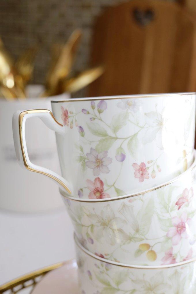 Фото 3 - Чайный набор Flora (12пр.).