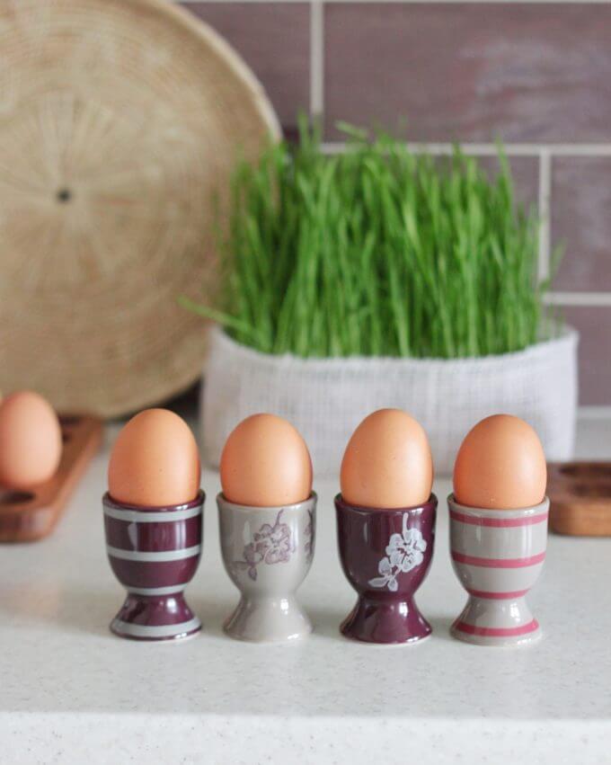 Фото 1 - Набор из 4 поставок для яиц.