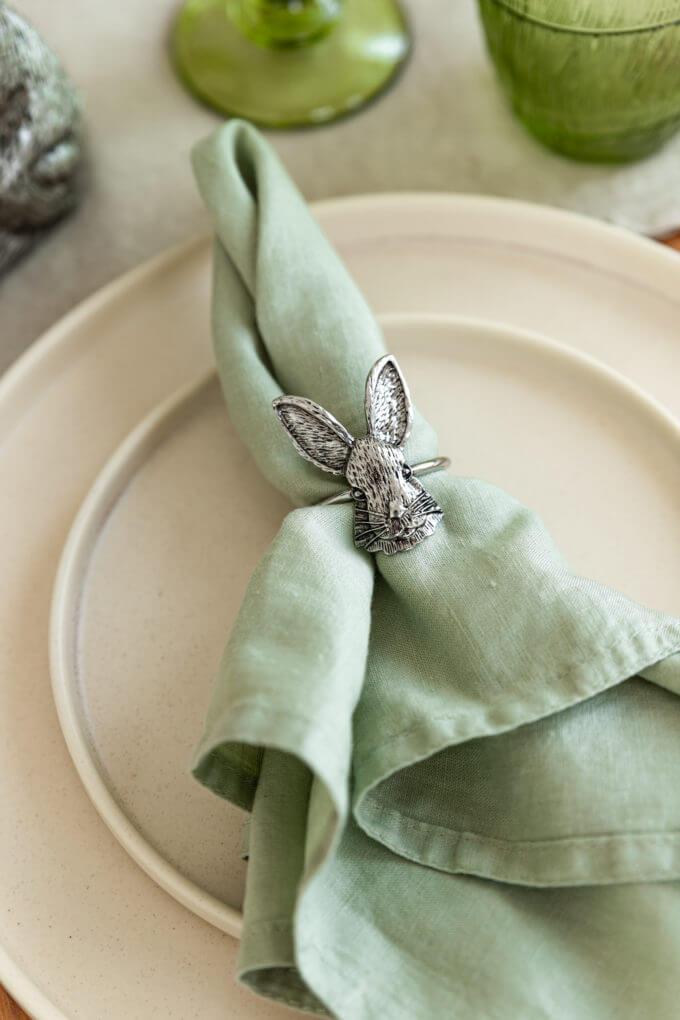 Фото 1 - Кольца для салфеток Bunny (2шт.).
