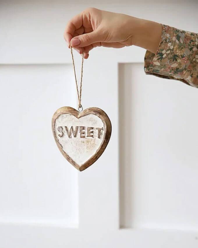 Фото 1 - Подвеска-сердце Sweet.