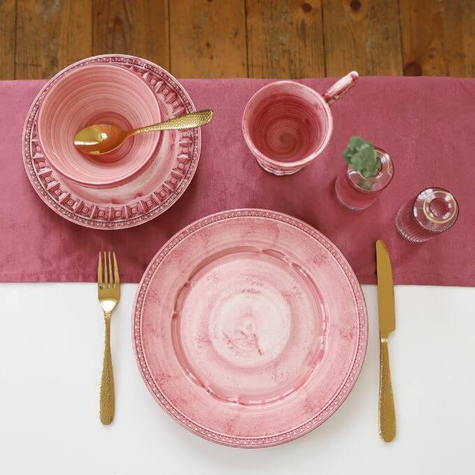 Фото 2 - Розовая пиала Augusta.