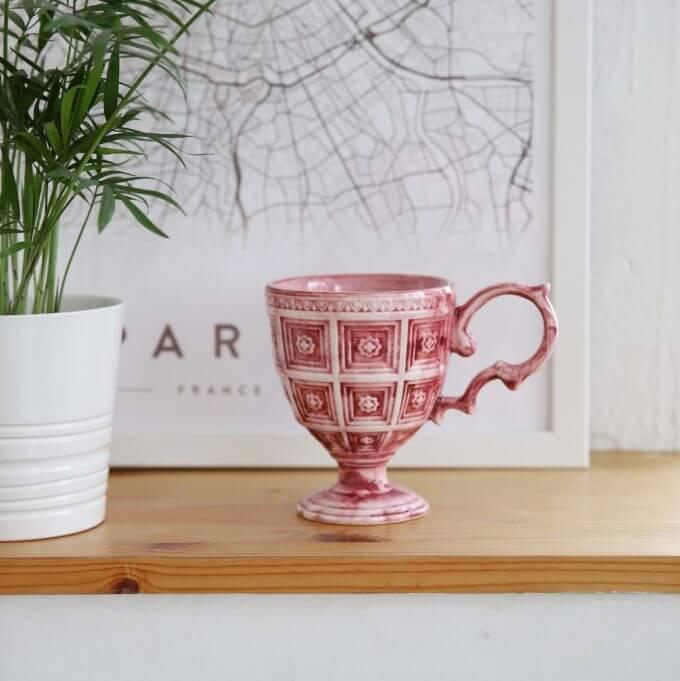 Фото 1 - Розовая кружка Augusta.
