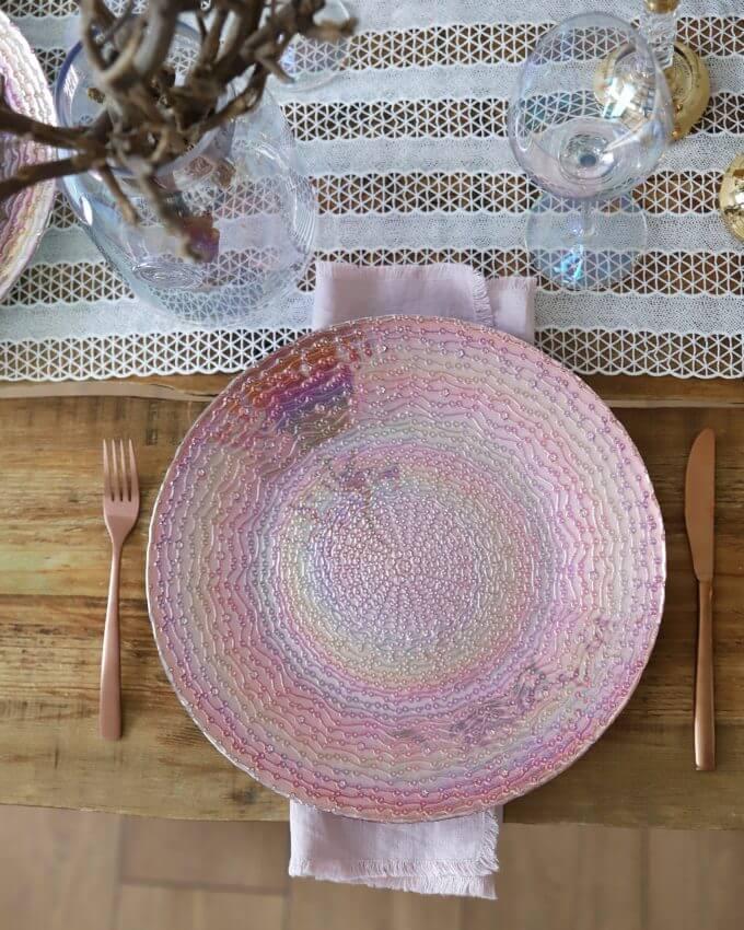 Фото 1 - Блюдо Pink Bubble.