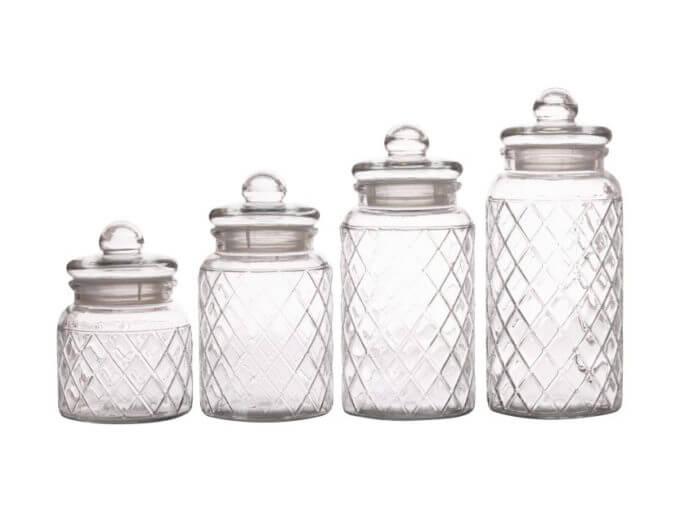 Фото 2 - Банки для хранения Trellis Jar.