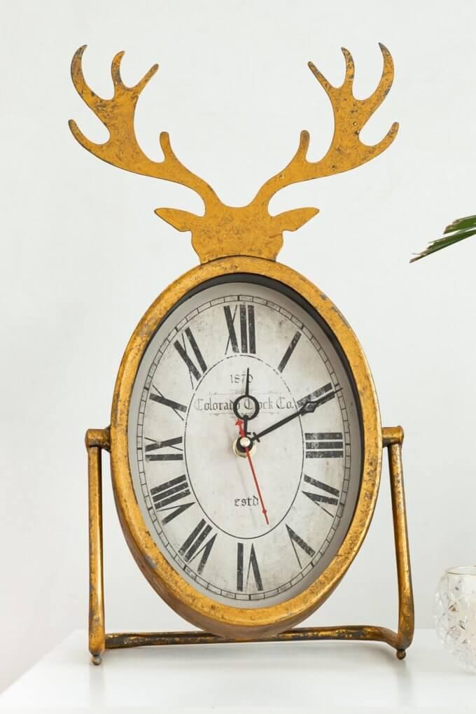 Фото 2 - Настольные часы Horned Clock.