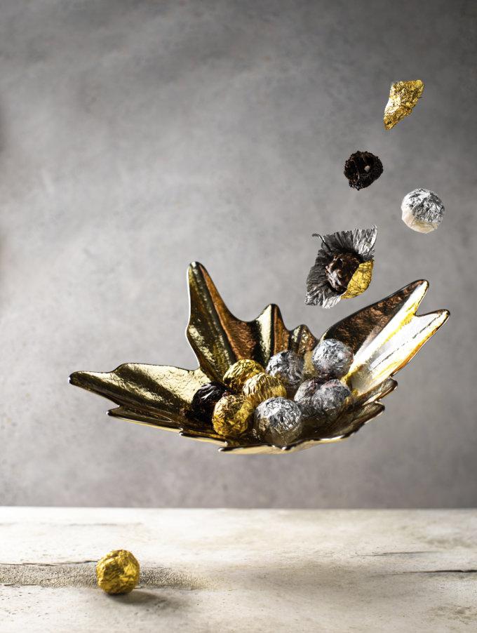 Фото 1 - Золотая конфетница Комета.