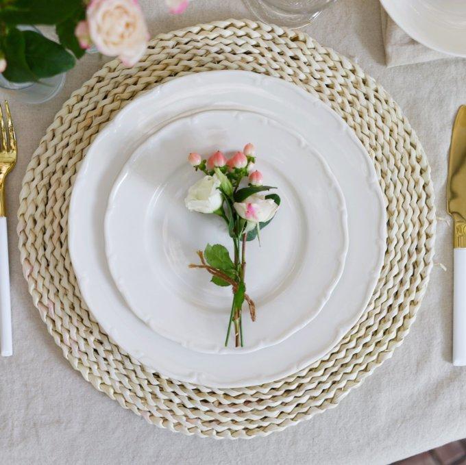 Фото 1 - Плоские тарелки Флоренс.