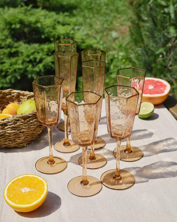 Фото 3 - Бокалы для шампанского Peach (2шт.).