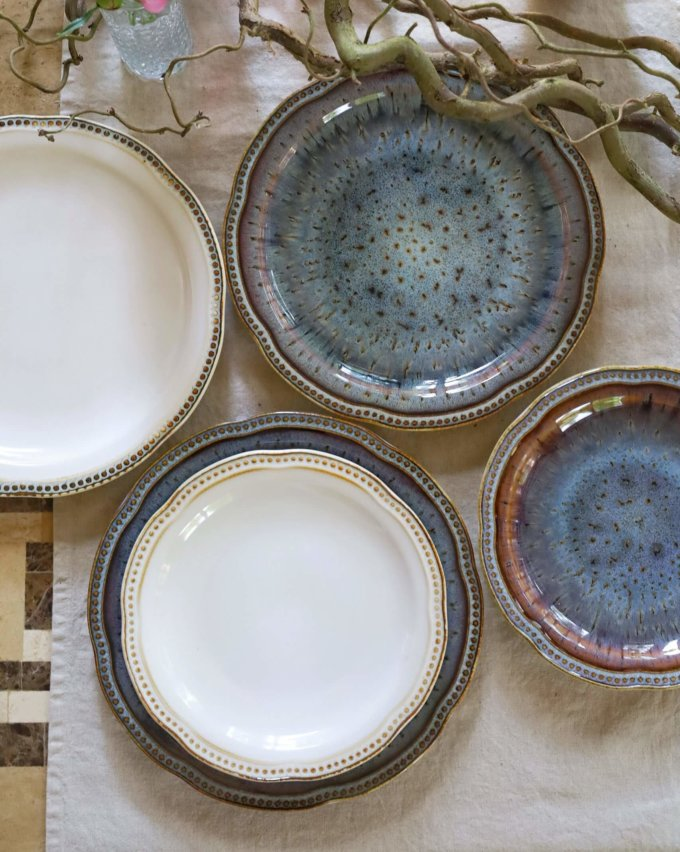 Фото 1 - Плоские тарелки Volcano.