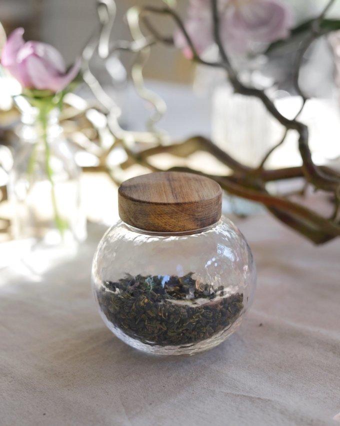 Фото 2 - Баночки стеклянные для чая или кофе.