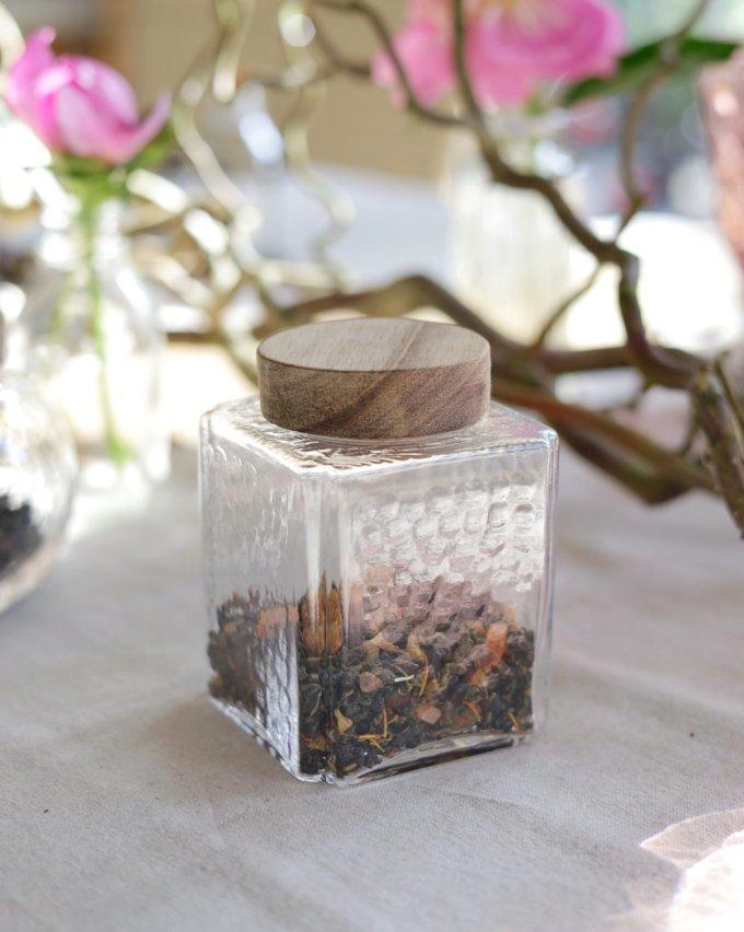 Фото 4 - Баночки стеклянные для чая или кофе.