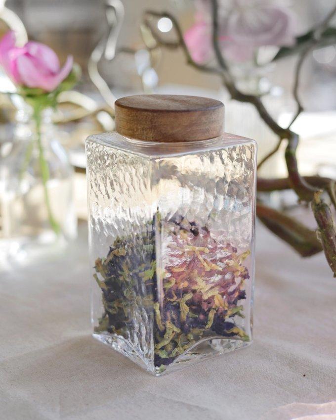 Фото 3 - Баночки стеклянные для чая или кофе.