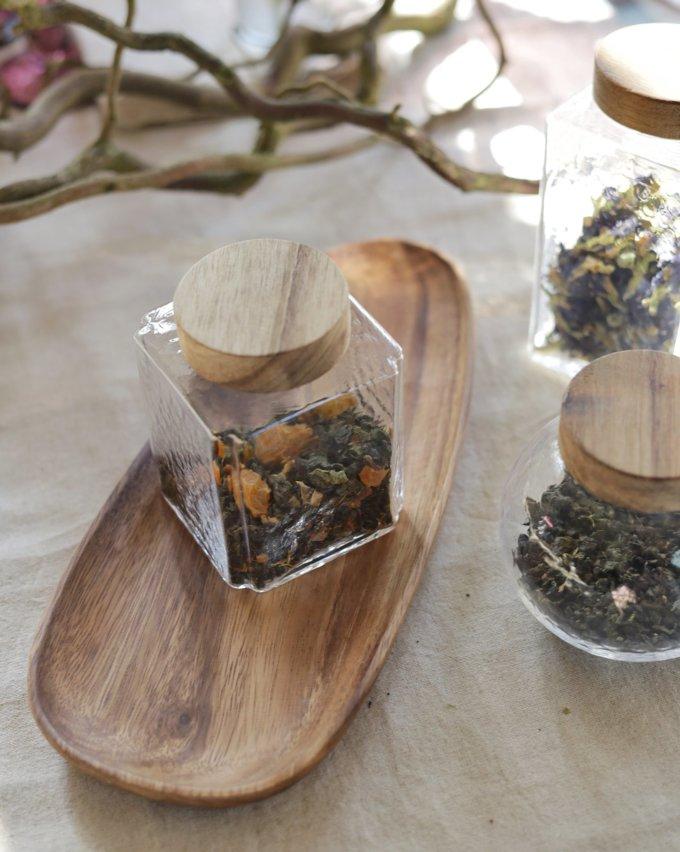 Фото 5 - Баночки стеклянные для чая или кофе.