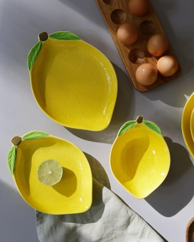 Фото 2 - Тарелки Lemons.