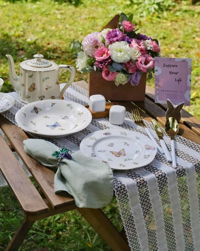 Фото 4 - Глубокая тарелка Garden.