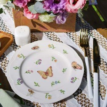 Фото 10 - Плоская тарелка Garden.