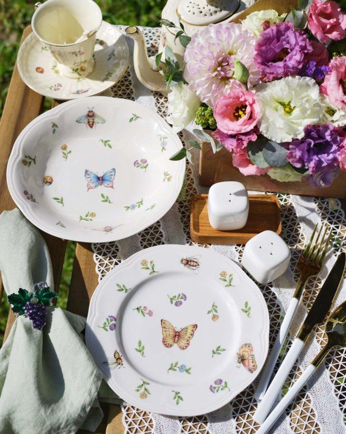 Фото 2 - Глубокая тарелка Garden.
