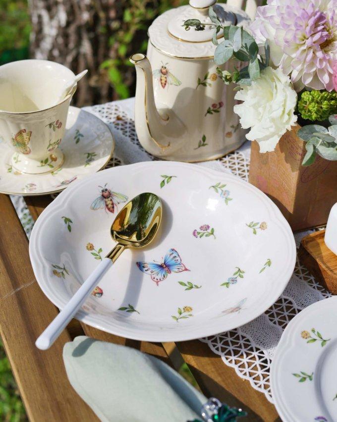 Фото 1 - Глубокая тарелка Garden.