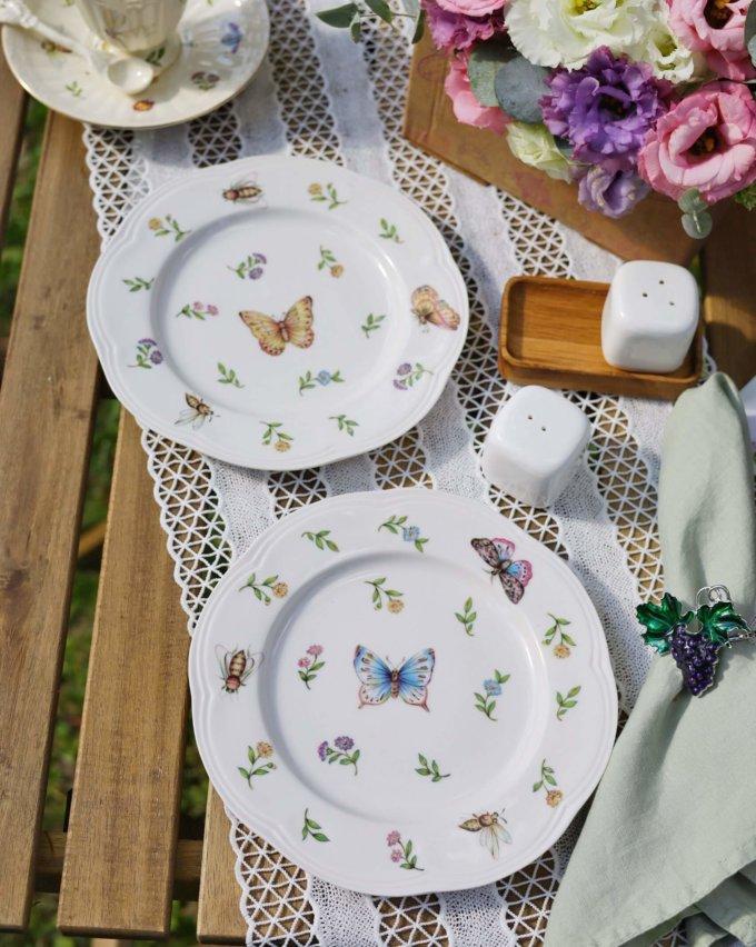 Фото 2 - Плоская тарелка Garden.