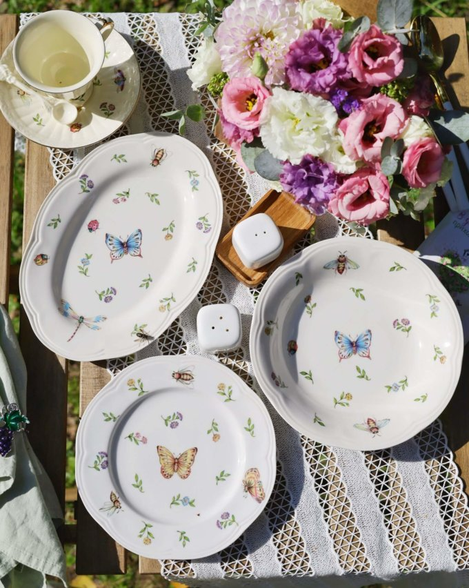Фото 3 - Глубокая тарелка Garden.