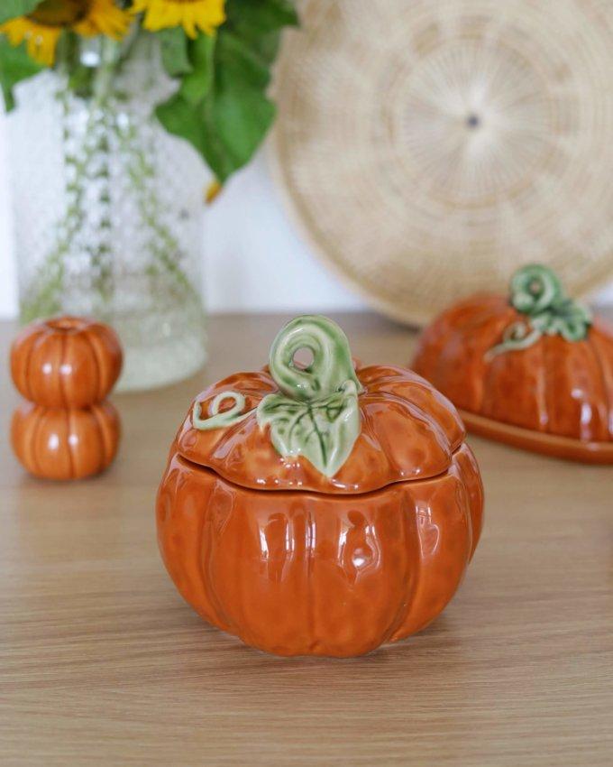 Фото 1 - Баночка для хранения Pumpkin.