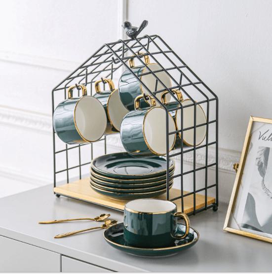 Фото 1 - Органайзер Домик для чайной посуды.