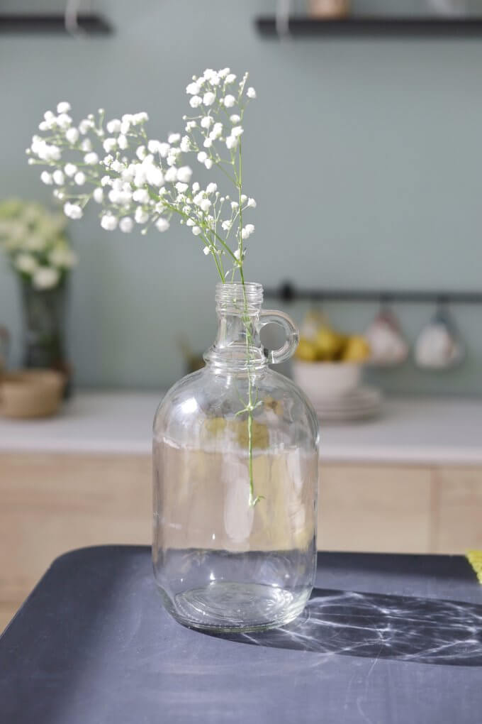 Фото 1 - Ваза-бутыль Clare.