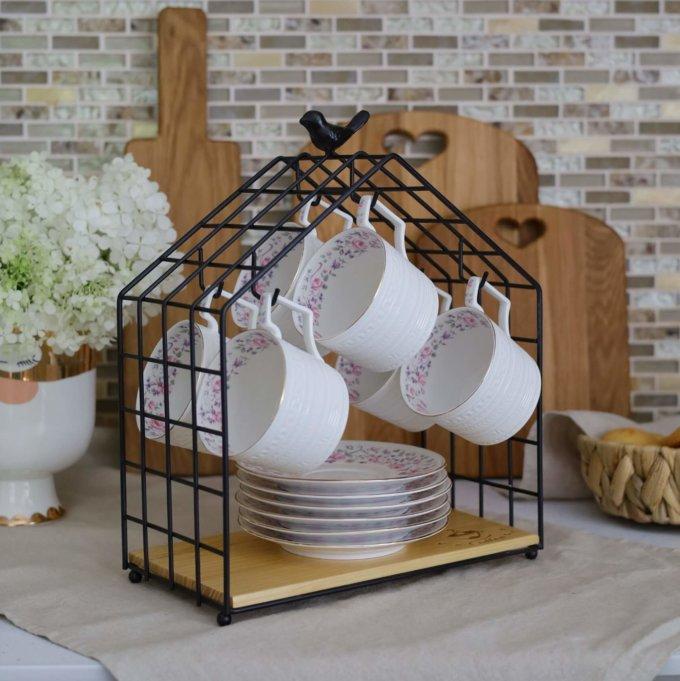 Фото 2 - Органайзер Домик для чайной посуды.
