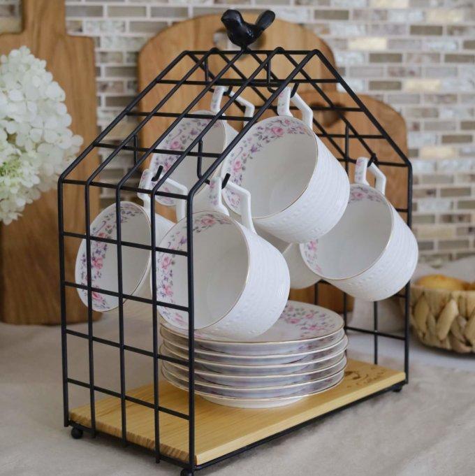 Фото 3 - Органайзер Домик для чайной посуды.