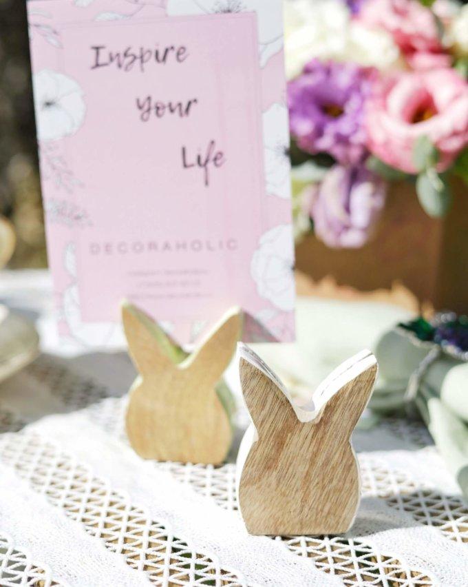 Фото 1 - Держатель для карточек Love bunny.