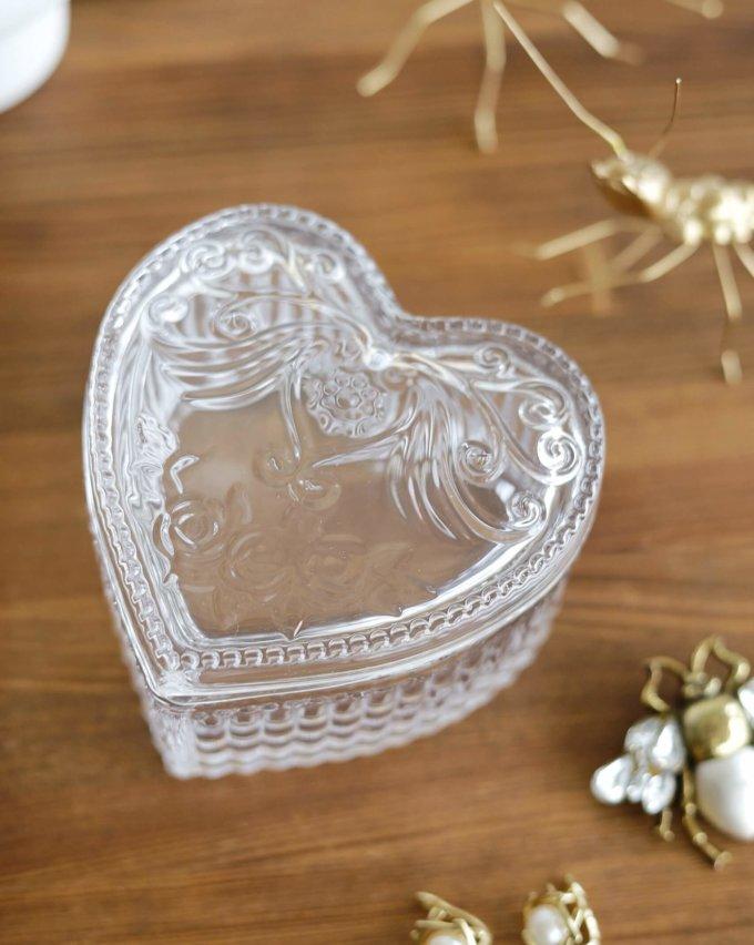 Фото 3 - Стеклянная шкатулка Сердце.