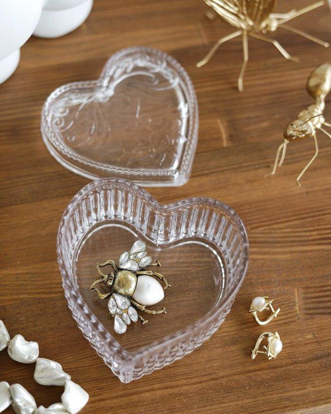 Фото 2 - Стеклянная шкатулка Сердце.