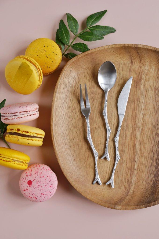 Фото 1 - Десертные приборы Веточка.