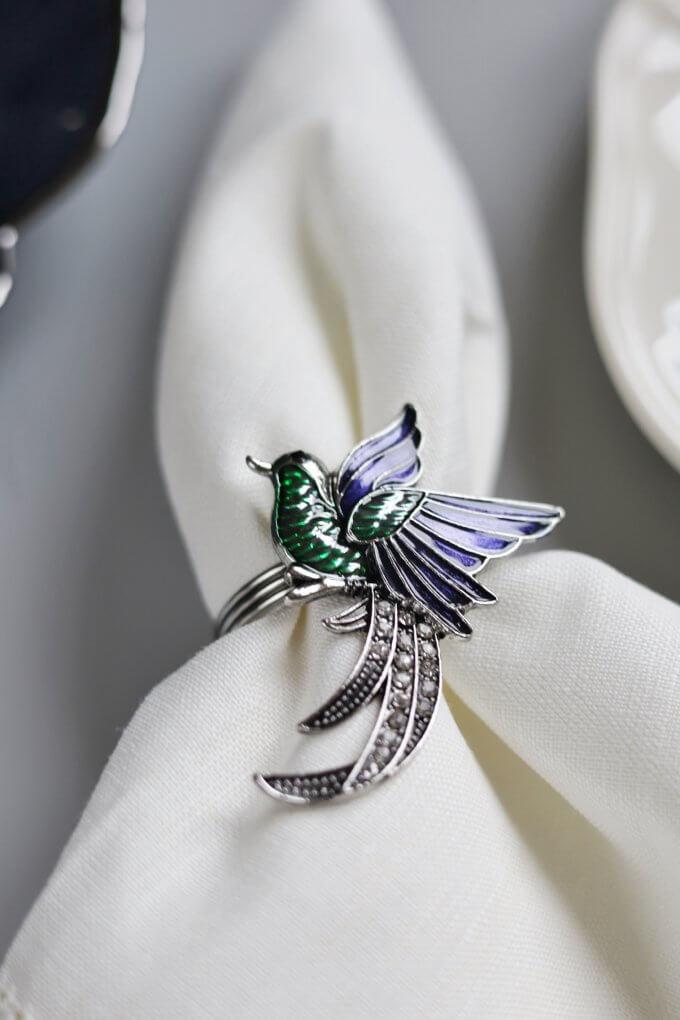 Фото 1 - Кольца для салфеток Hummingbird (2шт.).