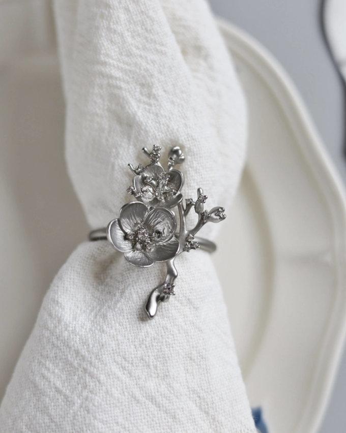 Фото 1 - Кольца для салфеток Sakura (2шт.).